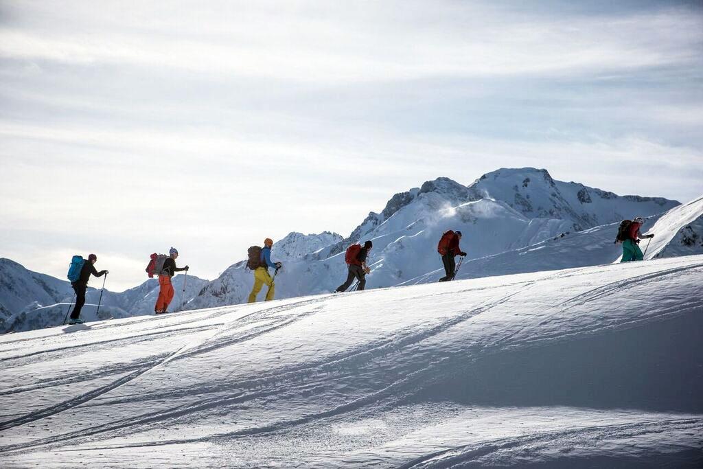 Ski touring in Japan