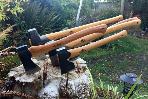 Gransfors Bruks Splitting Axe and Forest Axe Review