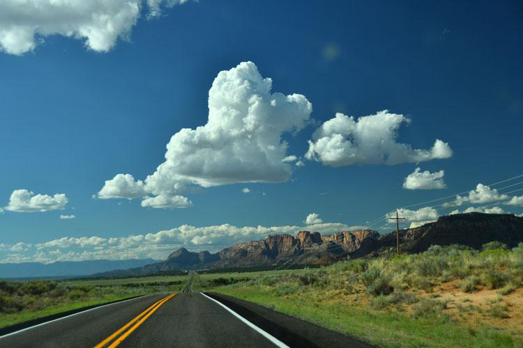 road to zion arizona