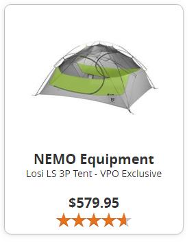 Nemo Equipment Losi LS 3P Tent Canada