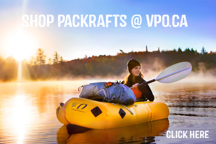 Shop packrafts in Canada - Kokopelli Packraft