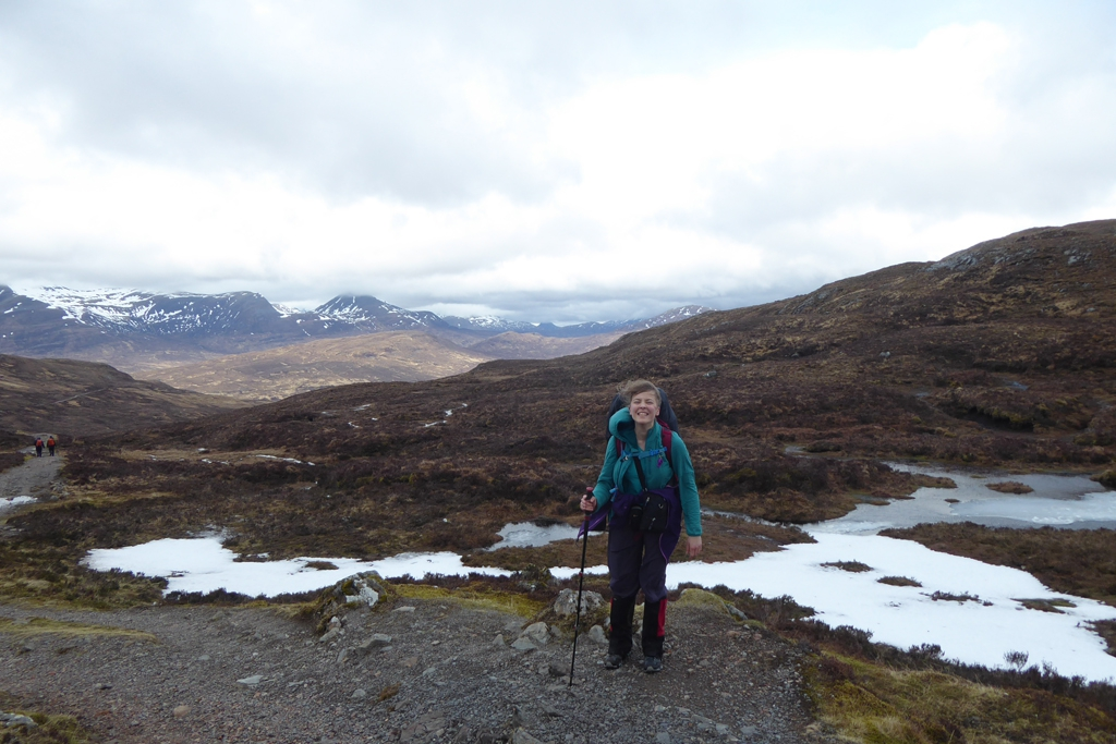 solo female thru hike scotland