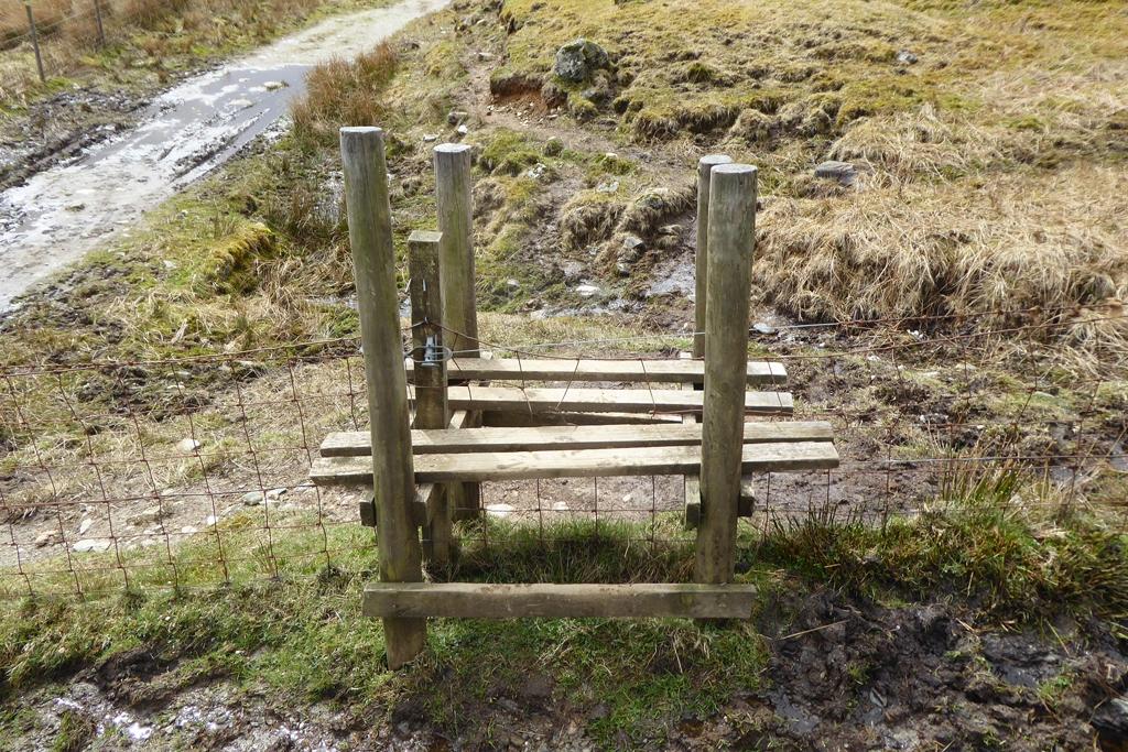 A Stile on the West Highland Thru Hike