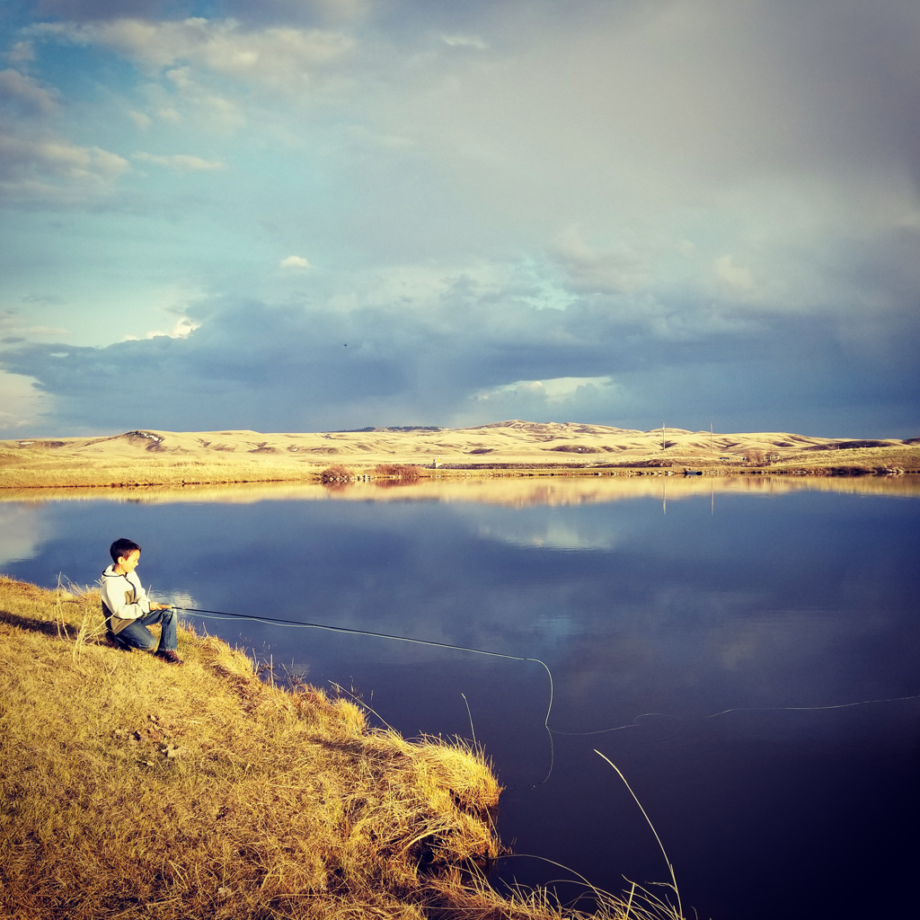 Fly fishing spots in southern Alberta