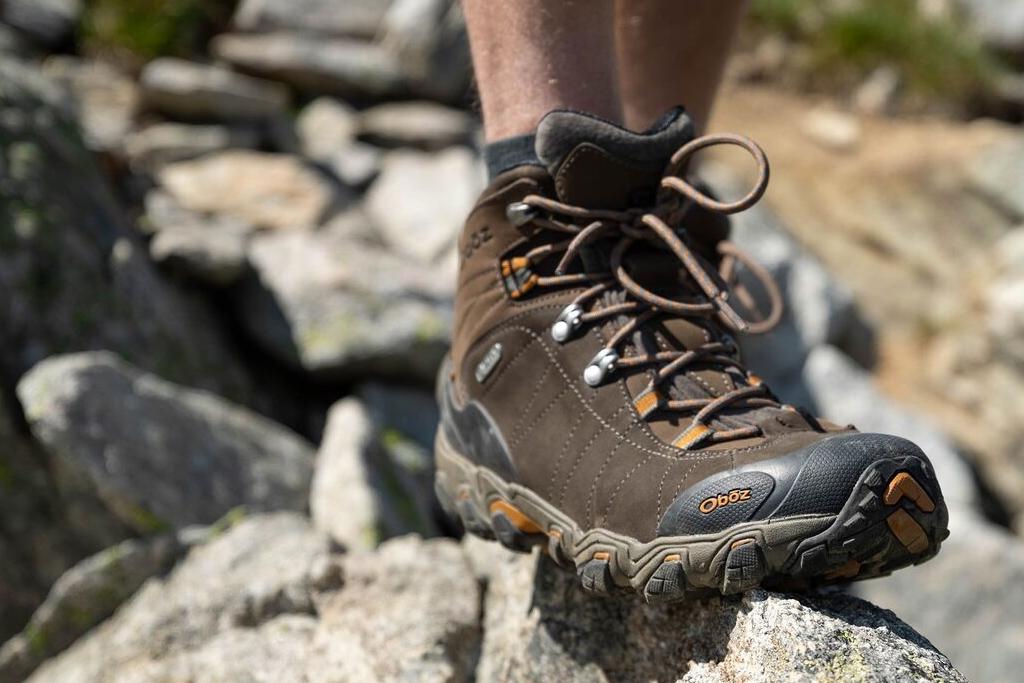 Scrambling Boots Oboz Bridger Mid