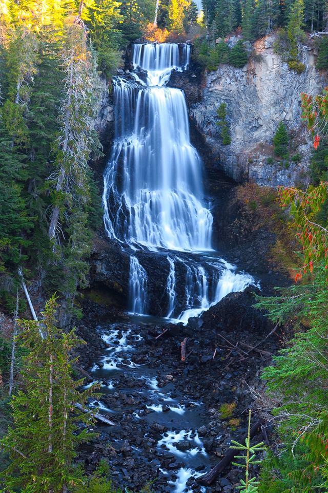 Alexander Falls BC