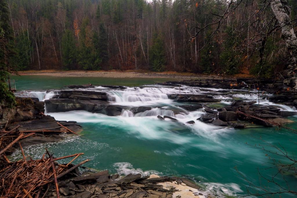 Rearguard Falls BC