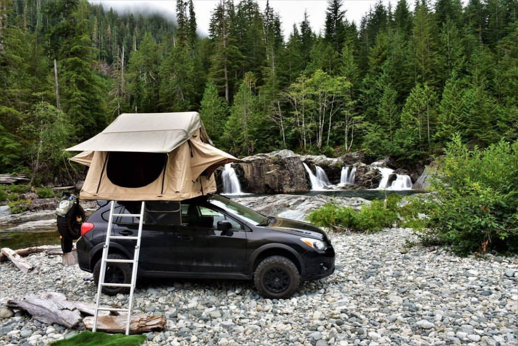 Roof Top Car Camping Tent Canada