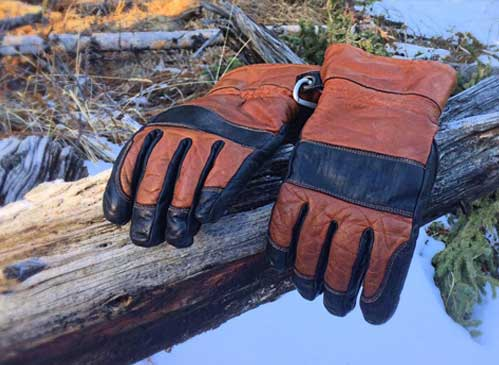 Hestra gloves for winter in Canada