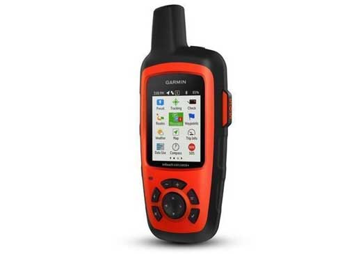 Garmin Inreach Explorer red 2Way Sat communication device.
