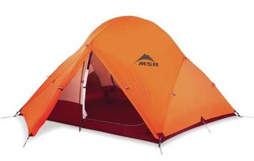 MSR Access 4 season tent for winter camping.