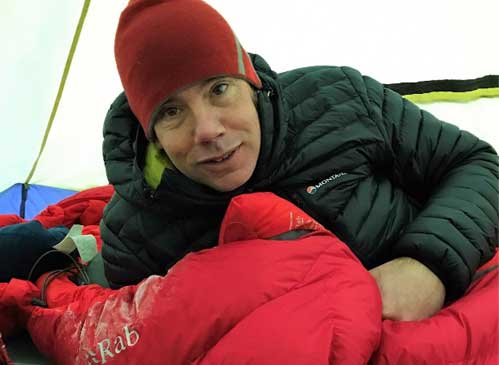Best sleeping bag for winter camping