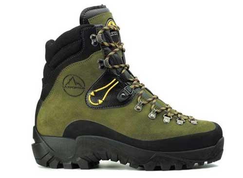La Sportiva winter trekking boots.