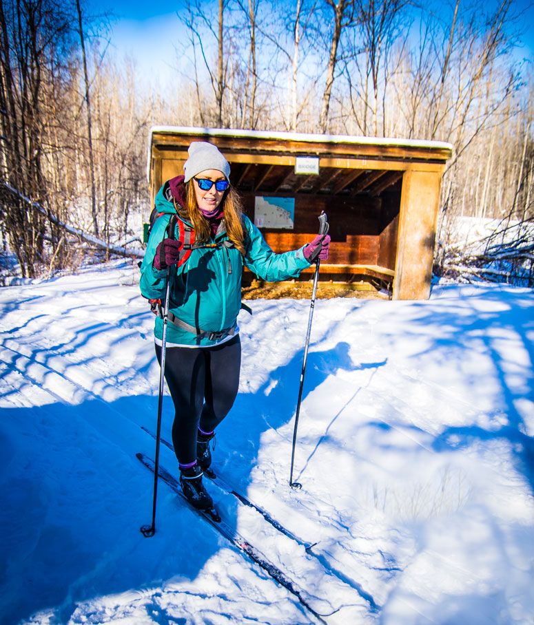Cross Country skiing while pregnant