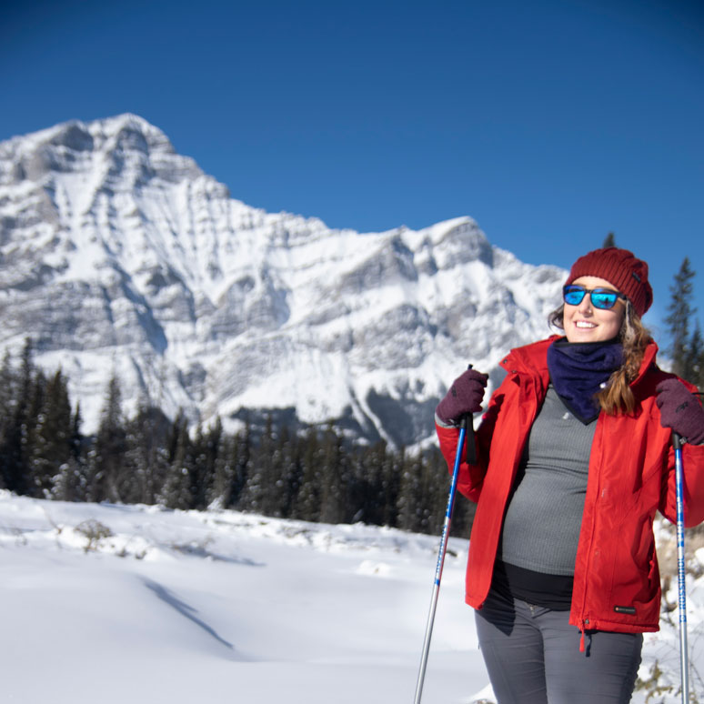 leah tyler szucki xc skiing pregnant