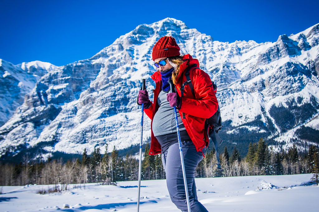 xc skiing good exercise while pregnant