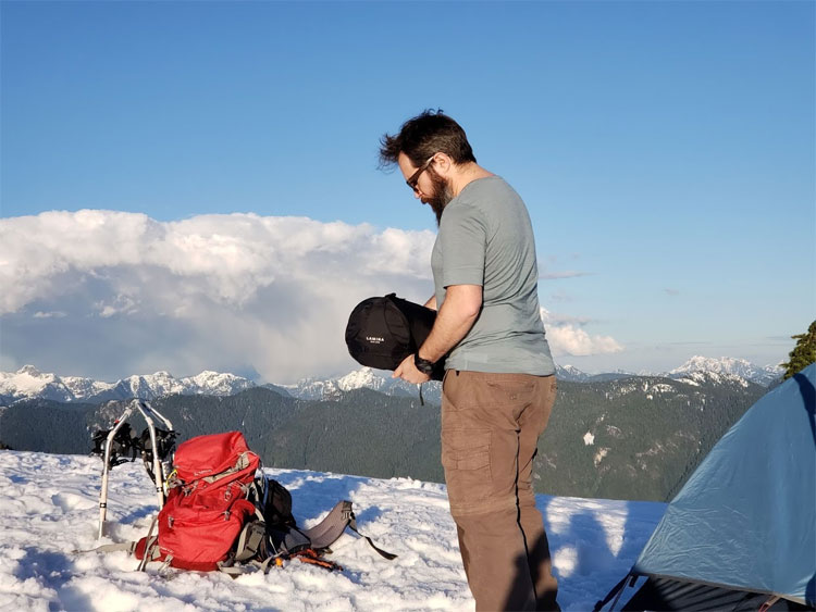Mountain Hardwear Winter camping gear