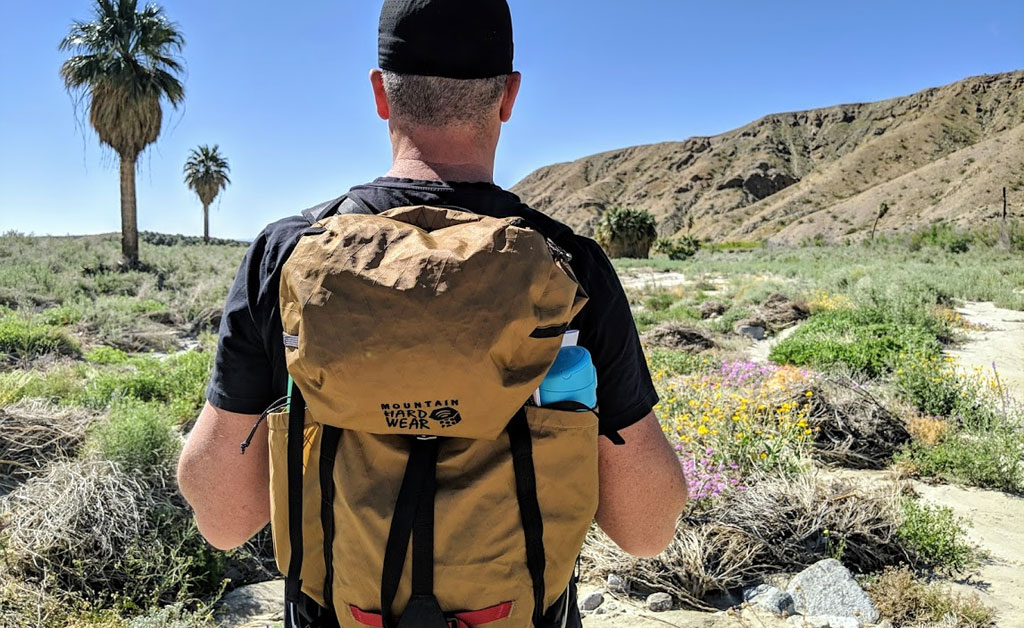 Hiking with the Mountain Hardwear Scrambler 25 Pack