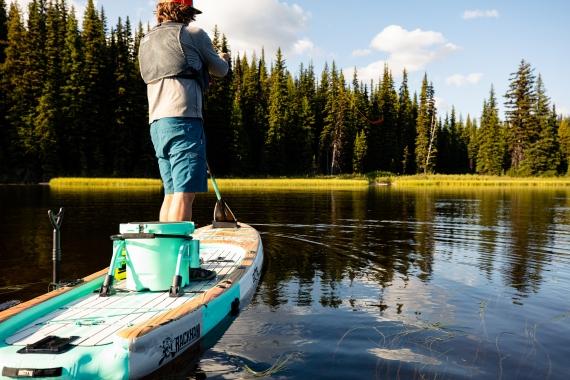 Fly Fishing with the Bote Rackham Aero