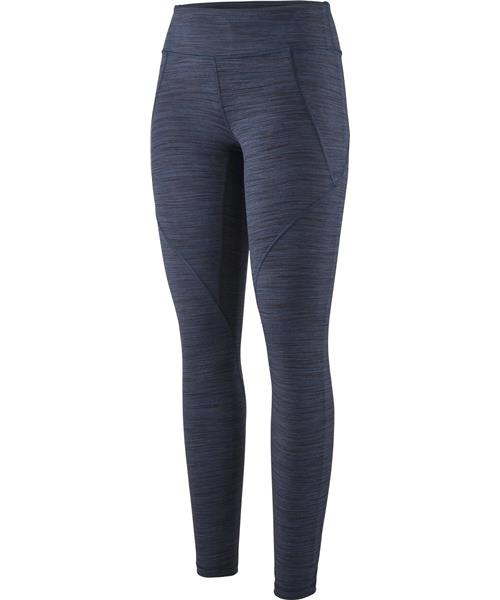 91144cadc042f Patagonia Centered Tights, 27.5 Inseam - Womens - Space Dye / Dolomite Blue