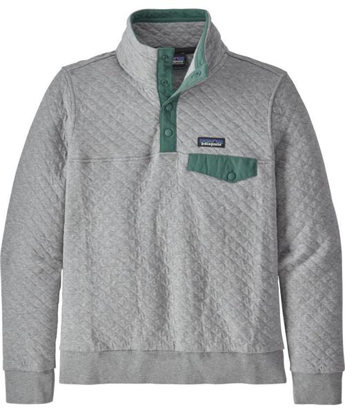 Patagonia Organic Cotton Quilt Snap T Pullover Womens