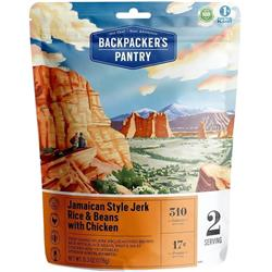 Backpackers Pantry Jamaican Style Jerk Rice with Chicken - 2 Serving (Gluten & Wheat Free)-Not Applicable