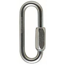 Petzl GO Screw Link, Oval, Steel, 7mm-Not Applicable