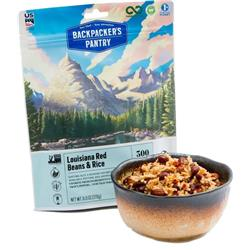 Backpackers Pantry Louisiana Red Beans & Rice - 2 Serving (Gluten & Wheat Free)-Not Applicable