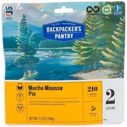 Backpackers Pantry Mocha Mousse Pie - 2 Serving - Desert-Not Applicable