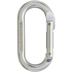 Black Diamond Oval Carabiner-Polished