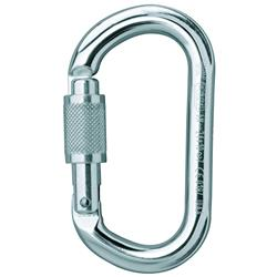 Petzl OK Carabiner Oval Screw-Lock-Not Applicable