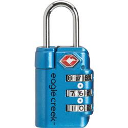 Eagle Creek Travel Safe TSA Lock-Brilliant Blue