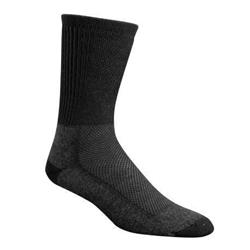 Wigwam Cool-Lite Hiker Pro Crew Socks-Black / Charcoal