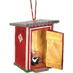 Outside / Inside Ornament - Outhouse