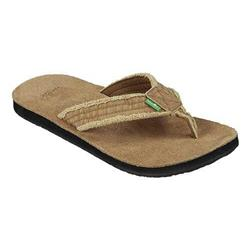 Sanuk Fraid Not - Mens-Khaki