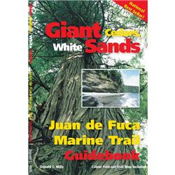 Assorted Publishers Giant Cedars, White Sands - Juan de Fuca Trail Guide w/ Map-Not Applicable