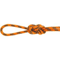 "Nylon Accessory Cord, 5/32"" / 4mm x 92m - Orange / Black LT (Sold p/mtr)"