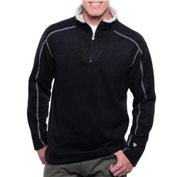 Kuhl Europa 1/4 Zip - Mens-Black
