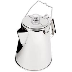 GSI Outdoors Glacier Stainless Percolator - 14 Cup-Not Applicable