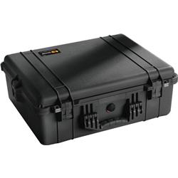 Pelican Products 1600 Large Case With Foam-Black