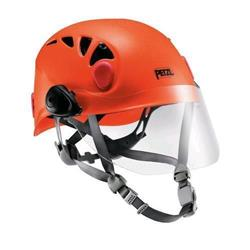 Petzl Vizion Face Shield for use with Sirocco, Meteor, Elia and Boreo-Not Applicable