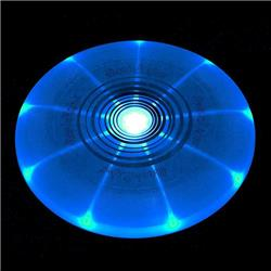 Nite-Ize FlashFlight LED Light-Up Flying Disc - Blue-Not Applicable