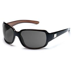 Suncloud Cookie, Black Backpaint Frame, Polarized Gray Lens-Not Applicable
