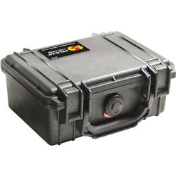 Pelican Products 1120 Small Case With Foam-Black