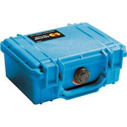Pelican Products 1120 Small Case With Foam-Blue