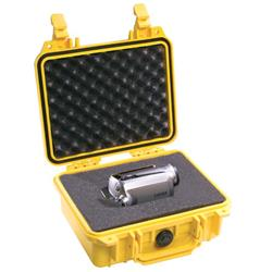 Pelican Products 1200 Case with Foam - Yellow (1200 WL / WF)-Not Applicable