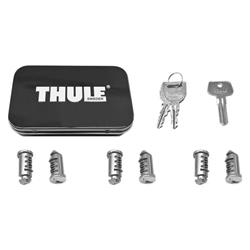 Thule 6-Pack Lock Cylinders-Silver