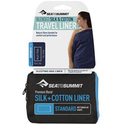 Sea To Summit Silk/Cotton Blend Travel Liner - Standard (Rectangular)-Not Applicable