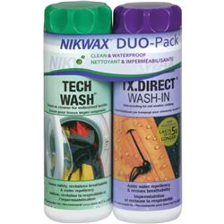 Nikwax Waterproofing Fabric Duo-Pack 10oz / 300ml - Tech Wash & TX.Direct Wash-In-Not Applicable
