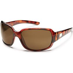 Suncloud Cookie, Tortoise Frame, Polarized Brown Lens-Not Applicable
